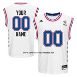 Camiseta All Star 2015 Adidas Personalizada Blanco