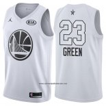 Camiseta All Star 2018 Golden State Warriors Draymond Green #23 Blanco