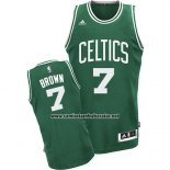Camiseta Boston Celtics Jaylen Brown #7 Verde