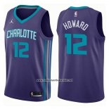 Camiseta Charlotte Hornets Dwight Howard #12 Statement 2017-18 Violeta
