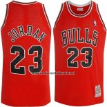 Camiseta Chicago Bulls Michael Jordan #23 Retro 1997-98 Rojo