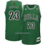 Camiseta Chicago Bulls Michael Jordan #23 Retro Patricks Day Verde