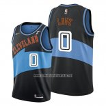 Camiseta Cleveland Cavaliers Kevin Love #0 Classic Edition 2019-20 Negro