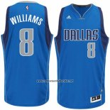Camiseta Dallas Mavericks Deron Williams #8 Azul