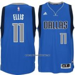 Camiseta Dallas Mavericks Monta Ellis #11 Azul