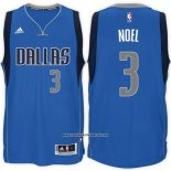 Camiseta Dallas Mavericks Nerlens Noel #3 Azul