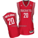 Camiseta Houston Rockets Donatas Motiejunas #20 Rojo
