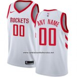 Camiseta Houston Rockets Nike Personalizada 17-18 Blanco