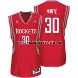 Camiseta Houston Rockets Royce White #30 Rojo