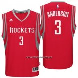 Camiseta Houston Rockets Ryan Anderson #3 Rojo