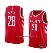 Camiseta Houston Rockets Tarik Black #28 Icon 2018 Rojo