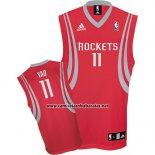 Camiseta Houston Rockets Yao Ming #11 Rojo