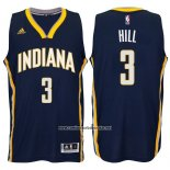 Camiseta Indiana Pacers George Hill #3 Azul