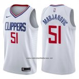 Camiseta Los Angeles Clippers Boban Marjanovic #51 Association 2017-18 Blanco