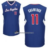 Camiseta Los Angeles Clippers Jamal Crawford #11 Azul