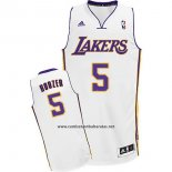 Camiseta Los Angeles Lakers Carlos Boozer #5 Blanco