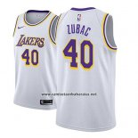 Camiseta Los Angeles Lakers Ivica Zubac #40 Association 2018-19 Blanco