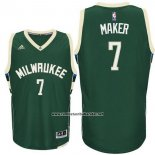 Camiseta Milwaukee Bucks Thon Maker #7 Verde