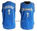 Camiseta Orlando Magic Anfernee Hardaway #1 Retro Azul