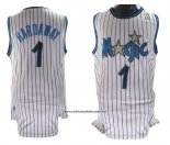 Camiseta Orlando Magic Anfernee Hardaway #1 Retro Blanco