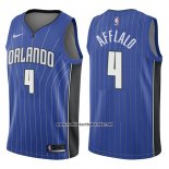 Camiseta Orlando Magic Arron Afflalo #4 Icon 2017-18 Azul