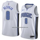 Camiseta Orlando Magic Mario Hezonja #8 Association 2018 Blanco