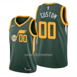 Camiseta Utah Jazz Personalizada Earned 2018-19 Verde