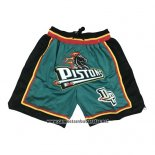 Pantalone Detroit Pistons Just Don 2019 Verde