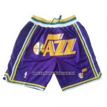 Pantalone Utah Jazz Just Don Violeta