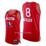 Camiseta All Star 2020 Eastern Conference Kemba Walker #8 Rojo