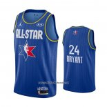 Camiseta All Star 2020 Los Angeles Lakers Kobe Bryant #24 Azul
