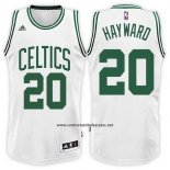 Camiseta Boston Celtics Gordon Hayward #20 Blanco