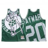 Camiseta Boston Celtics Gordon Hayward #20 Mitchell & Ness Big Face Verde