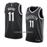 Camiseta Brooklyn Nets Kyrie Irving #11 Icon 2019-20 Negro
