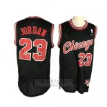 Camiseta Chicago Bulls Michael Jordan #23 Retro Negro3