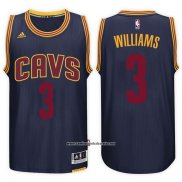 Camiseta Cleveland Cavaliers Mo Williams #3 2015 Azul
