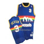 Camiseta Denver Nuggets Allen Iverson #3 Retro Azul