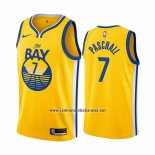 Camiseta Golden State Warriors Eric Paschall #7 Statement The Bay Oro