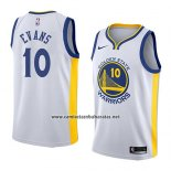 Camiseta Golden State Warriors Jacob Evans #10 Association 2018-19 Blanco