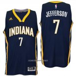 Camiseta Indiana Pacers Al Jefferson #7 Azul
