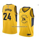 Camiseta Indiana Pacers Alize Johnson #24 Statement 2018 Amarillo