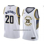 Camiseta Indiana Pacers Doug Mcdermott #20 Association 2018 Blanco