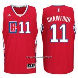 Camiseta Los Angeles Clippers Jamal Crawford #11 Rojo