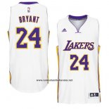 Camiseta Los Angeles Lakers Kobe Bryant #24 Blanco