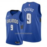 Camiseta Orlando Magic Nikola Vucevic #9 Statement Edition Azul