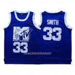 Camiseta Pelicula Music Television Will Smith #33 Azul