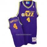 Camiseta Utah Jazz Adrian Dantley #4 Retro Violeta