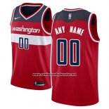 Camiseta Washington Wizards Nike Personalizada 17-18 Rojo