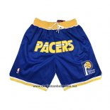 Pantalone Indiana Pacers Just Don 2019 Azul