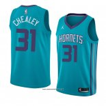 Camiseta Charlotte Hornets Joe Chealey #31 Icon 2018 Verde